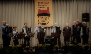 "Akkordeon-Orchester mit Ensemble ""Take 5"""